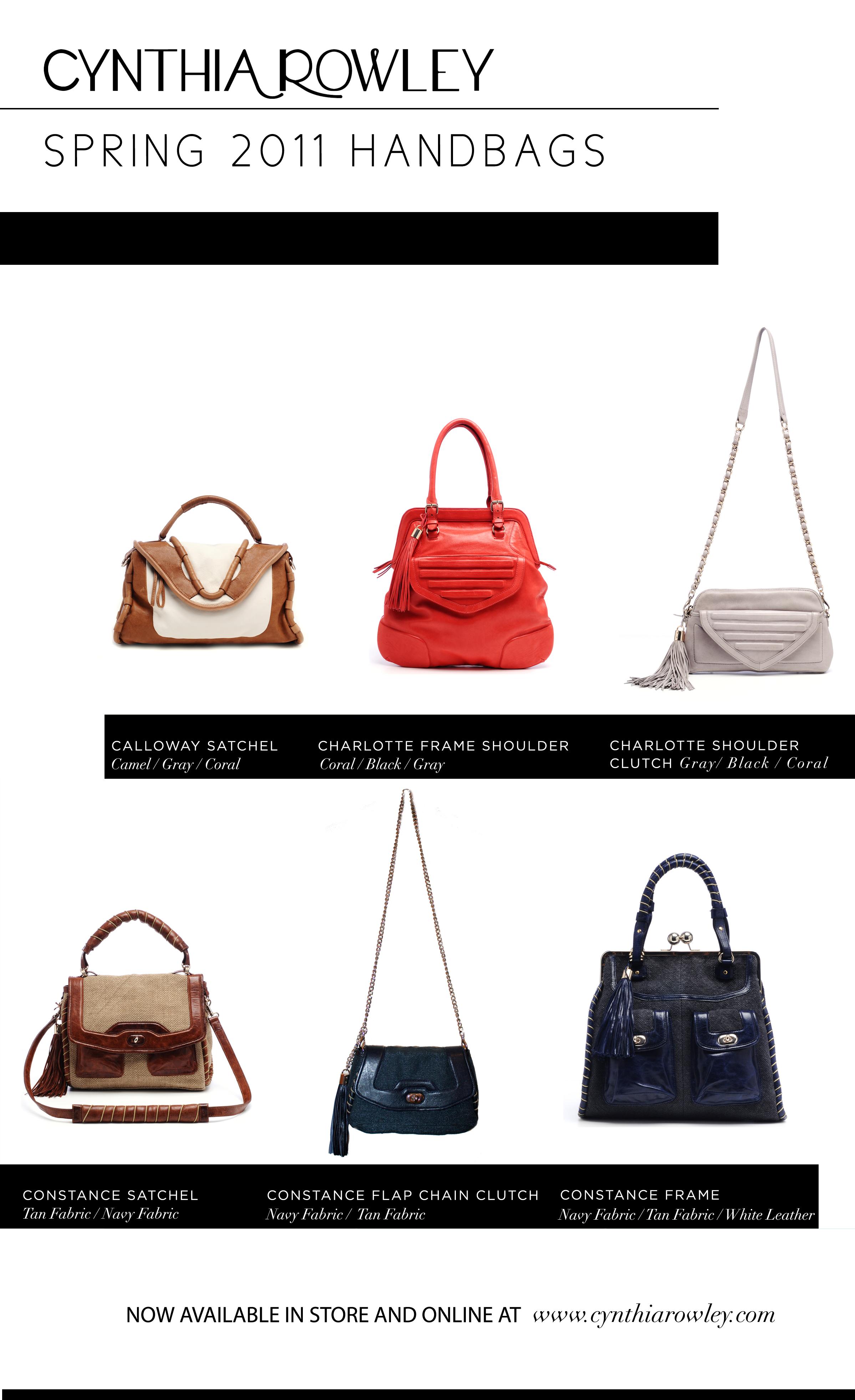 fashion Cynthia Rowley handbags